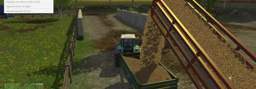 Conveyor belt for wood chips v1.1