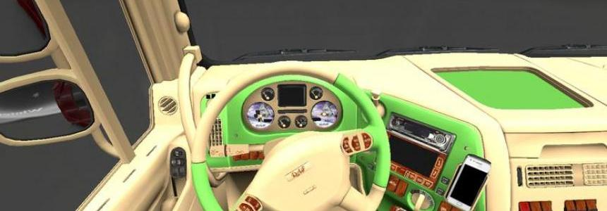 DAF Interior Light Brown Light Green v1.13.3