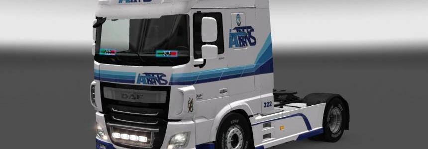 DAF XF Euro 6 Italtrans Skin