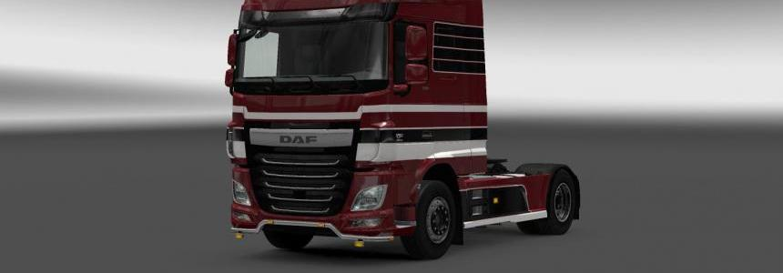 DAF XF Euro 6 Mega Mod Pack