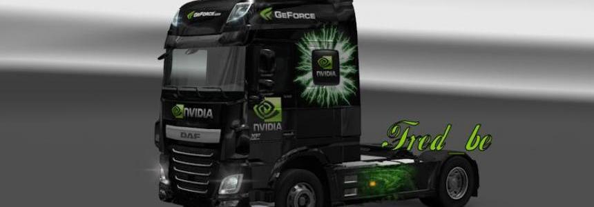DAF XF Euro6 Nvidia Skin