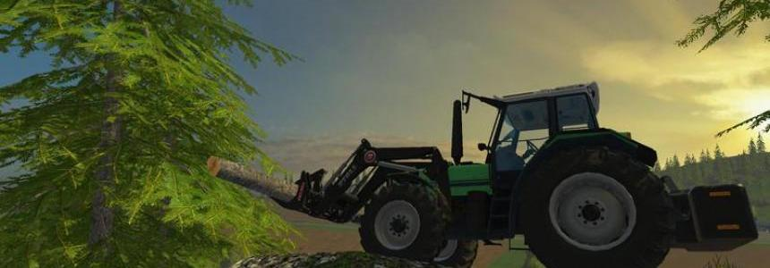 Deutz Agro Star 661 front loader v1.0