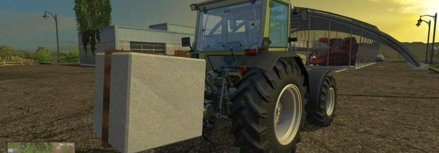 DIY Concrete 1500 kg v1.0