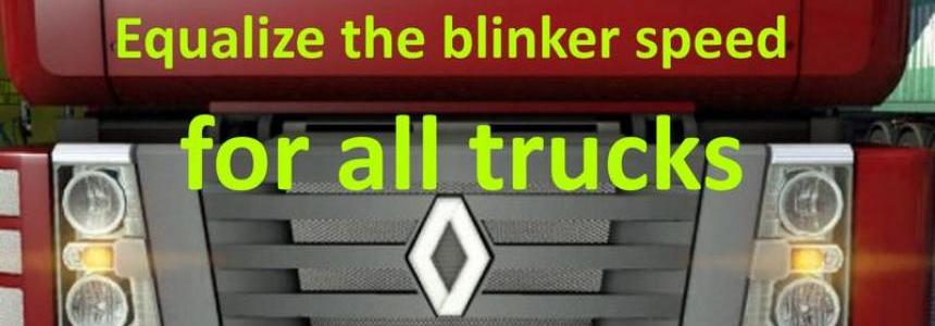 Equalize the blinker speed v9.0