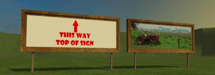 Farm Banner Sign