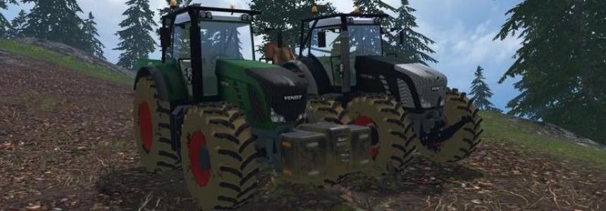 Fendt 936 Vario Forest Edition v1.0