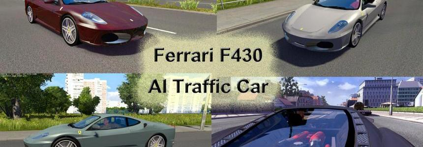 Ferrari F430 AI Traffic Car