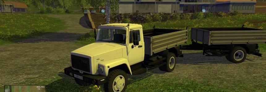 GAZ 35071 + Trailer SAZ-83173 v2.0
