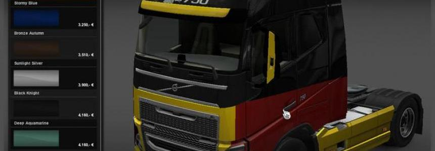 Germany skin for Iveco FH16 2012 v1.0