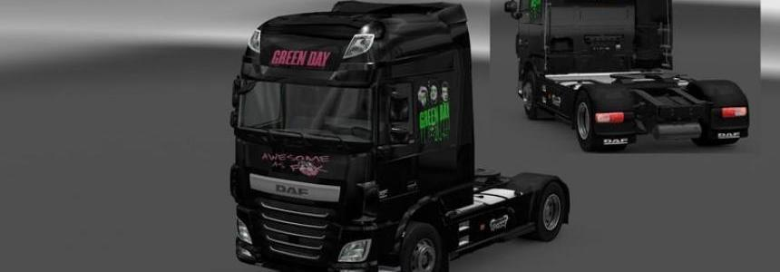 Green Day Daf Euro 6 v1.0 beta