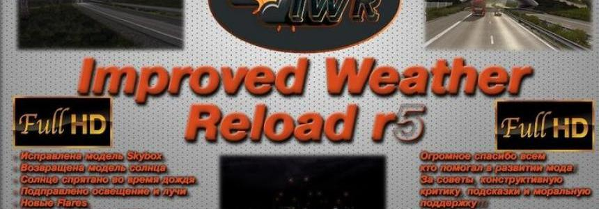 Improved Weather reload R5 SD
