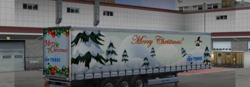 JBK trailer Pack Christmas x4 v1.0