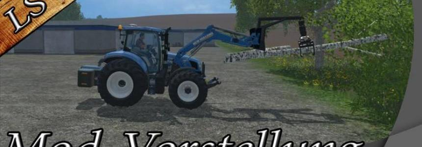 Log Skidder Forestry FL v1.0