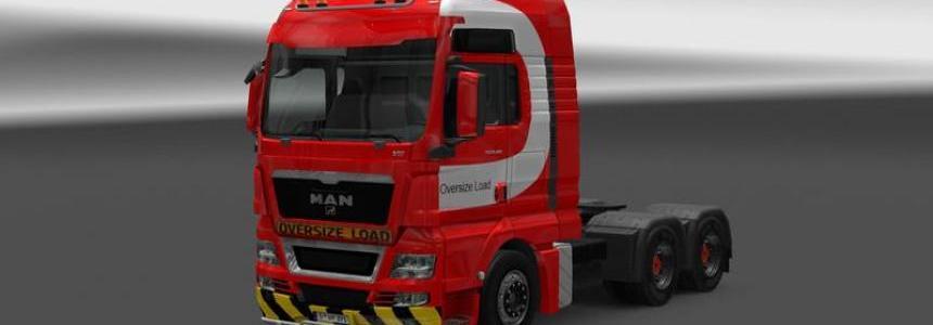 MAN heavy haulage Skin v1.0