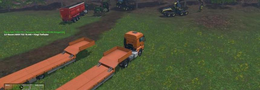 MAN low loader Pack v1.0