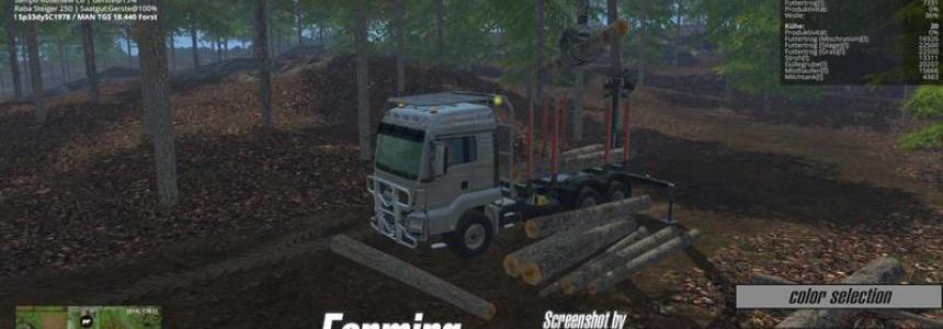 MAN TGS 18.440 Forestry v2.0