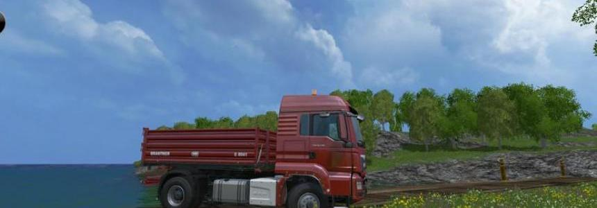 MAN TGS 18440 tipper v2.0