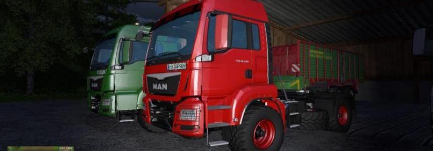 MAN TGS agricultural Short cabine v1.0