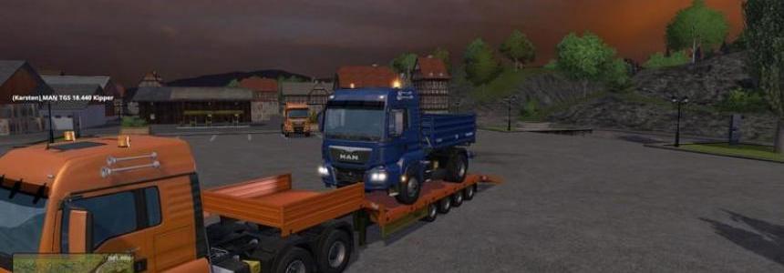 MAN Truck 6X6 v1.0