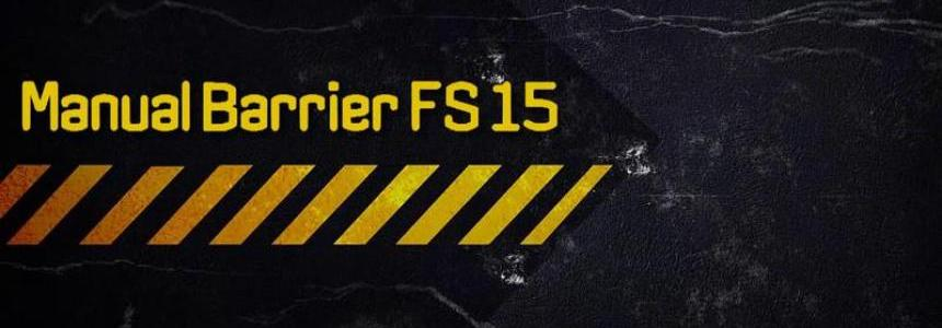 Manual Barrier v5.15.5