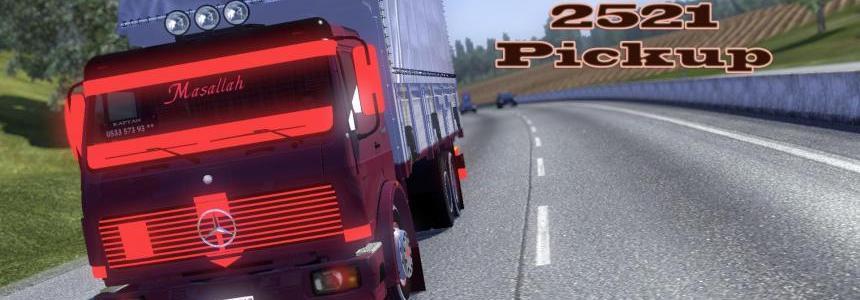 Mercedes 2521 Pickup v1.14