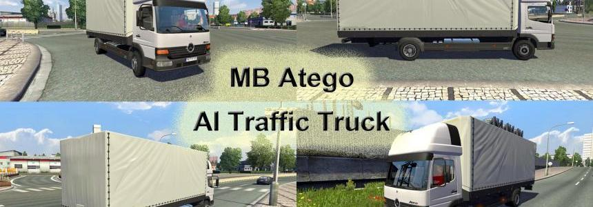 Mercedes Benz Atego AI Traffic Truck