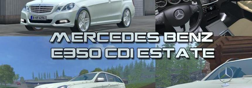 Mercedes E class v1.0