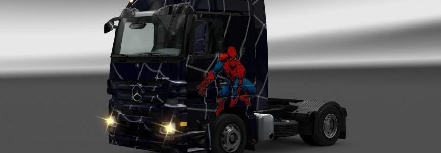 Mercedes spiderman 1.14x
