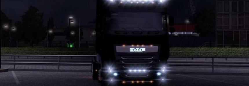 New Daf Xf light Mod v1.13.3