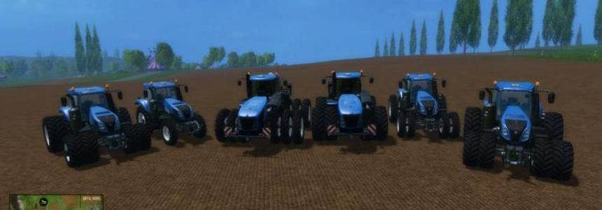 New Holland T Series Tractors Pack FS15