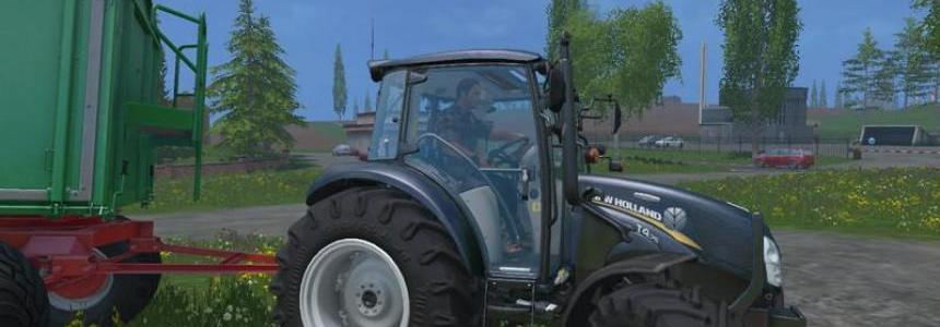 New Holland T4 75 v1.0 Black