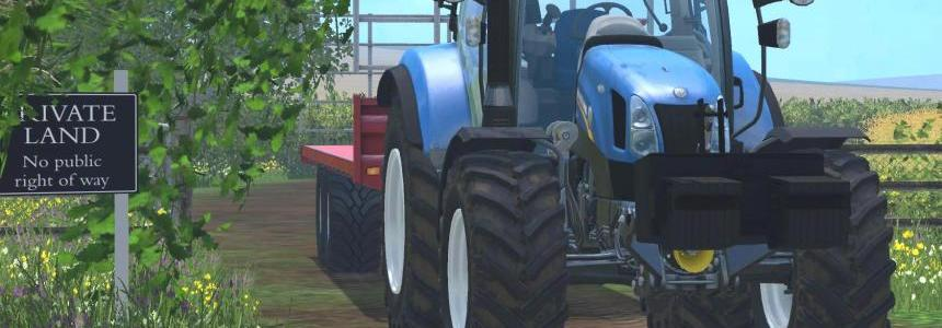 New Holland T6.160 without Loader Brackets