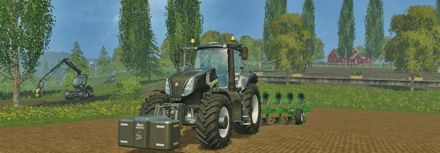 New Holland T8.320 Black Edition v1.0