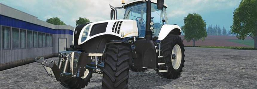 New Holland T8 435 White special paint v1.1