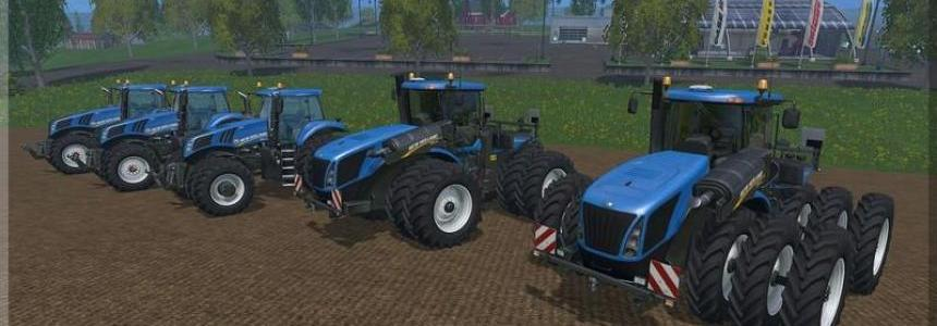 New Holland T8 T9 Wheels Pack v1.0