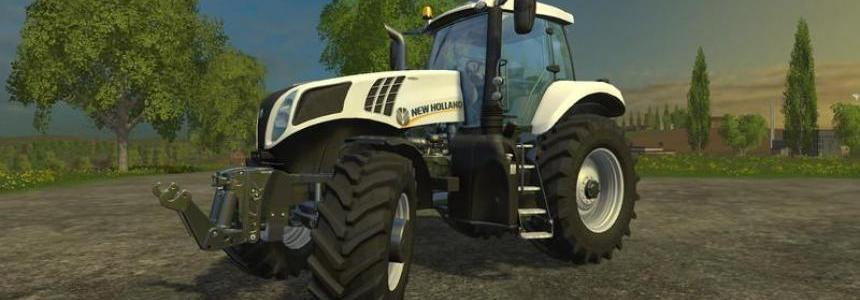 New Holland T8 Ultra white v1.0