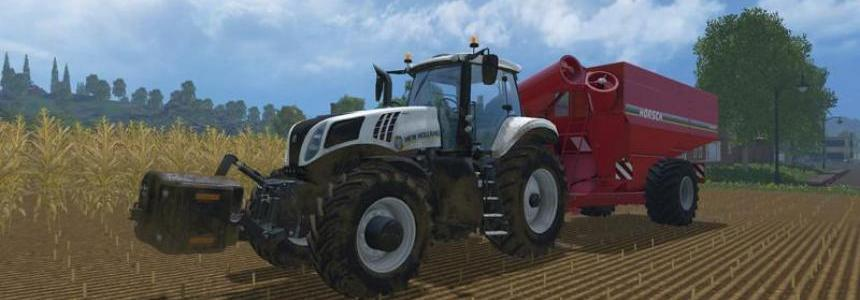 New Holland T8 Ultra white v1.3