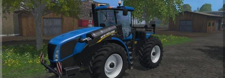 New Holland T9560 changing tires v1.0