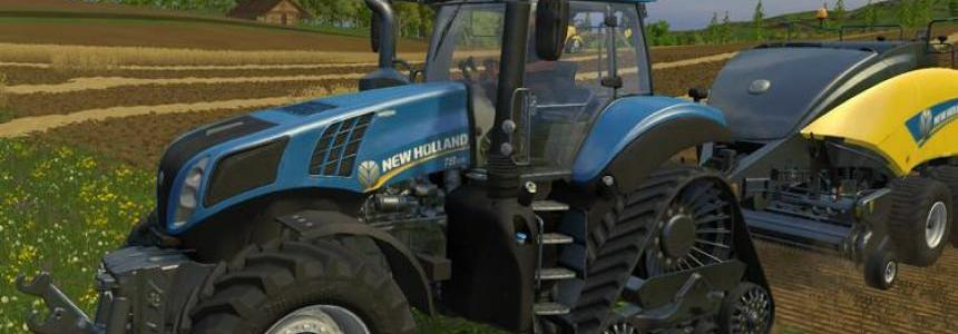 NewHolland T8 435 SmartTrax v1.0
