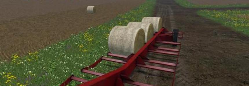 Notch Round Bale Trailer v1.0