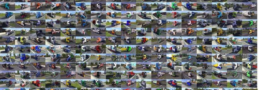 Painted truck traffic pack by Jazzycat  v1.4