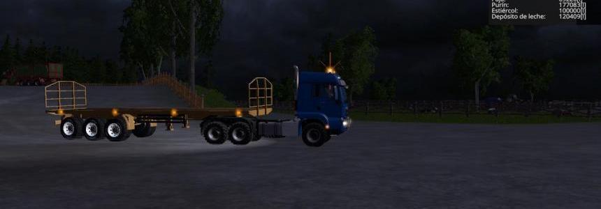 Platform trailer V1