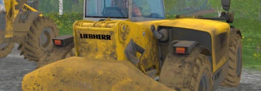 Rear weight for LiebherrTL432 v2.0