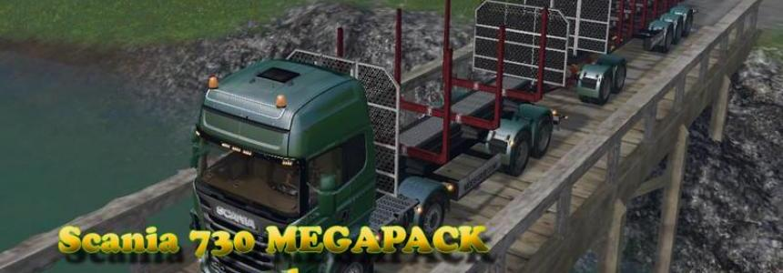 Scania 730 and Trailers v1.0