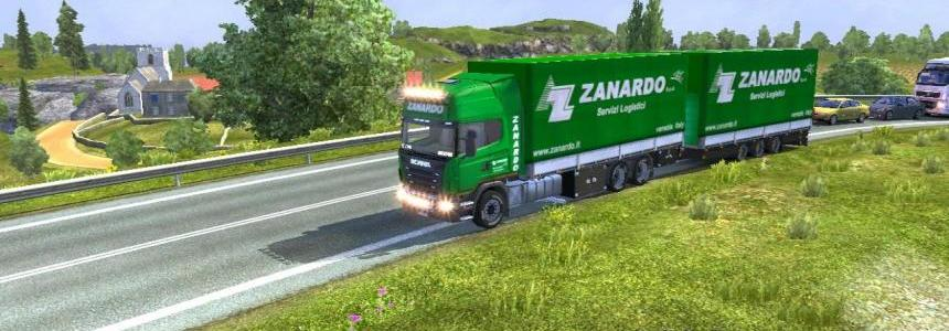 Scania bdf tandem Zanardo