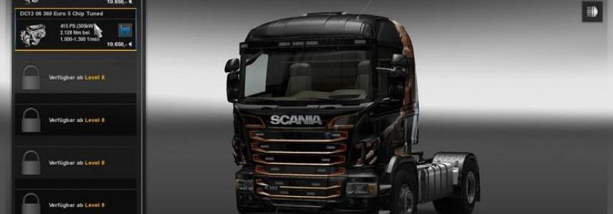 Scania R Motors v1.13