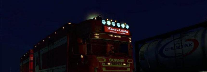 Scania R500 Fleurs + Trailer
