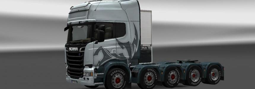 Scania Streamline 10x8 by MasterMods 1.14.X