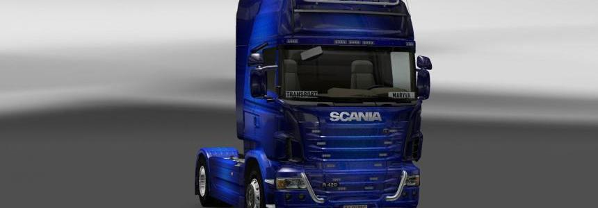 Skin Scania Fantastic Blue