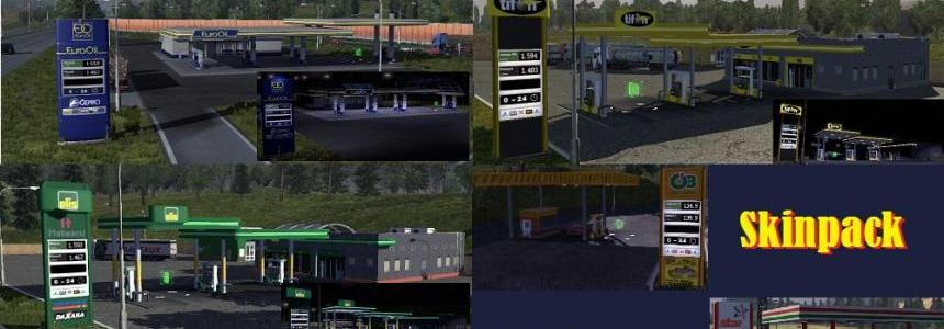 Skinpack gas stations Release 05